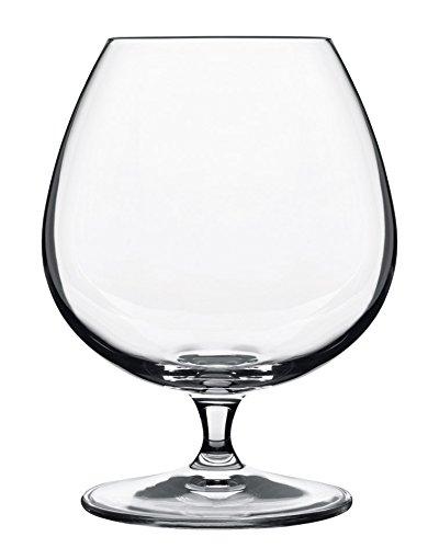 Luigi Bormioli 10564/01 Vinoteque 15.75 oz Cognac/Brandy Glasses, Set of 6, Clear