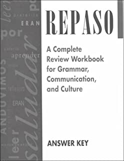 Repaso a complete review workbook for grammar communication and repaso answer key spanish edition fandeluxe Choice Image