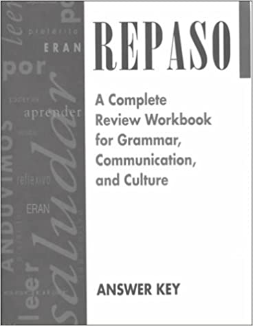 Amazon repaso answer key spanish edition 9780844274225 repaso answer key spanish edition spanish by mcgraw hill fandeluxe Image collections