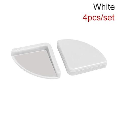 4 piezas de silicona suave bebé seguridad esquina protector mesa ...