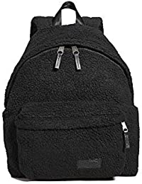 Men's Faux Shearling Padded Pak'r Backpack, Black, One Size