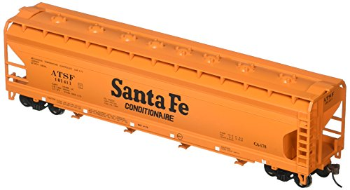 - Bachmann Trains Sante Fe (Orange) 56' Acf Center-Flow Hopper-Ho Scale