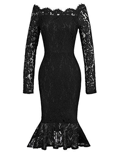 50s boat neck wedding dress - 8