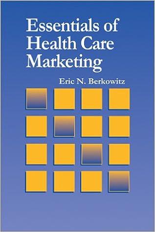 Essentials of health care marketing eric n berkowitz essentials of health care marketing eric n berkowitz 9780763732684 amazon books fandeluxe Choice Image