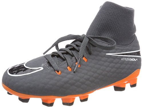 Academy 081 Unisex Shoes Jr Total Df Multicolour Kids' Fg Fitness Hypervenom Grey Dark Oran NIKE 3 wdpzZqwX