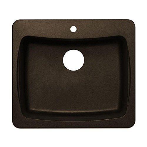Astracast Kitchen Sink - Astracast AL10RQUSSK Single Bowl Kitchen Sink, Metallic Chocolate by Astracast