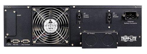 Tripp Lite 6000VA SmartOnline UPS, Double-Conversion, 208/240 & 120V, 9U Rack/Tower, Extended Run, Network Card Slot, DB9, Bypass Switch, Hardwire (SU6000RT3U)