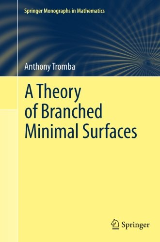 A Theory of Branched Minimal Surfaces (Springer Monographs in Mathematics)