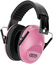 Dr.meter Adjustable Head Band Kids Noise Reduction Earmuffs with 27 NRR Hearing Protection Earmuffs for Shooti