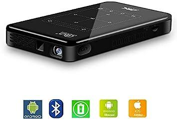 HAWK LI Proyector portátil, Mini proyector Android con 1 GB ...
