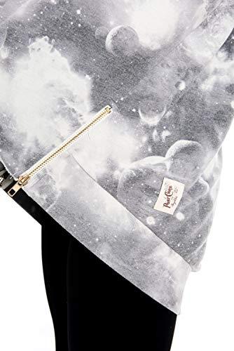 para de Zip blanco Coco Sweater Carly postal Brighton mujer Una Up qpnSft55w