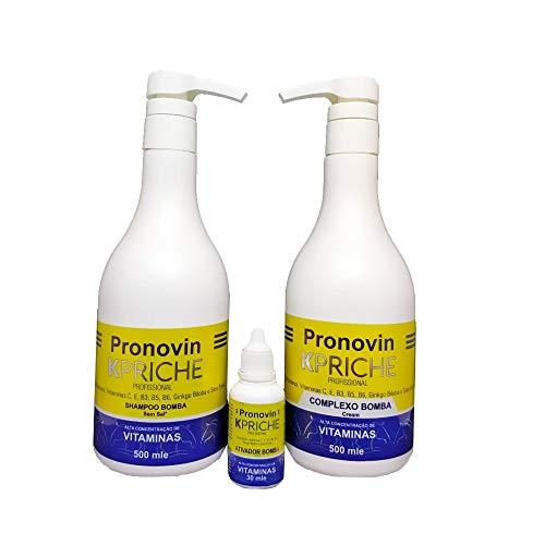 Kit Bomba Pronovin (Crescimento Dos Cabelos)