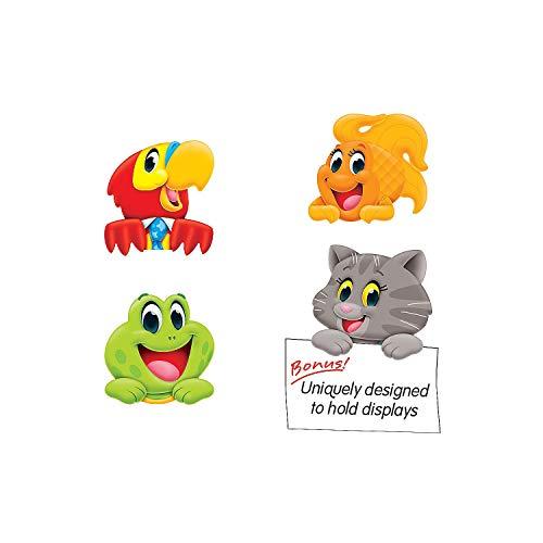 (Fun Express - Playtime Pals Bb Cutouts - Educational - Classroom Decorations - Bulletin Board Decor - 36 Pieces)
