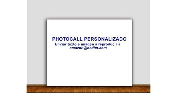 Photocall Personalizado 3x2m | Personaliza tu propio Photocall a tu gusto | Envianos tu Diseño para Realizar el Photocall | Calidad Excelente, Resistente y ...