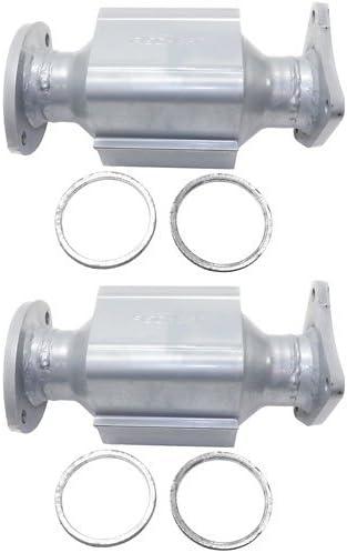 Catalytic Converter Compatible with 1990-1997 Lexus LS400 Aluminized Steel Tube