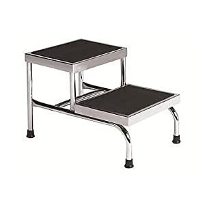 Amazon Com 2 Step Steel Step Stool With 600 Lb Load