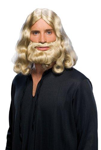 Rubie's Biblical Blond Beard and Wig Set, Yellow, One ()