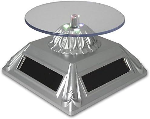 Banberry Designs Rotación de Tocadiscos Expositor con luz LED ...