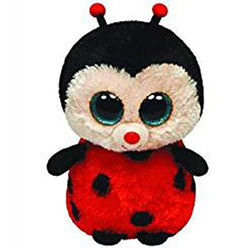 Stuffed & Plush Animals - Ty Beanie Boos 10 Quot 25cm Bugsy The Ladybug Plush Medium Soft Big Eyed Stuffed Animal Insect - Jumbo Accessories Coloring Pegasus Monkey Yellow Turtles Ostrich Drag -