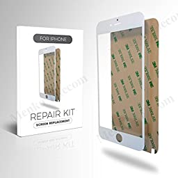 MMobiel White Display Touchscreen replacement kit For iPhone 6 Plus/6s Plus - 12 pieces
