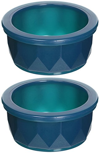 ((2 Pack) Van Ness Heavyweight Translucent Small Crock Dish, 9.5 Ounce)