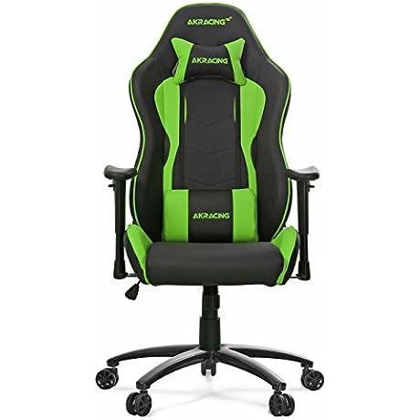 Akracing AK 5015 Nitro Ergonomic Series Racing Style Gaming Office Chair Black Green