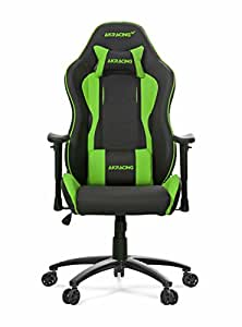 Akracing AK-5015 Nitro Ergonomic Series Racing Style Gaming Office Chair - Black/Green