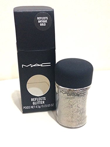 MAC Pro Glitter - REFLECTS ANTIQUE GOLD - 4.5g/0.15 oz (Mac Glitter)