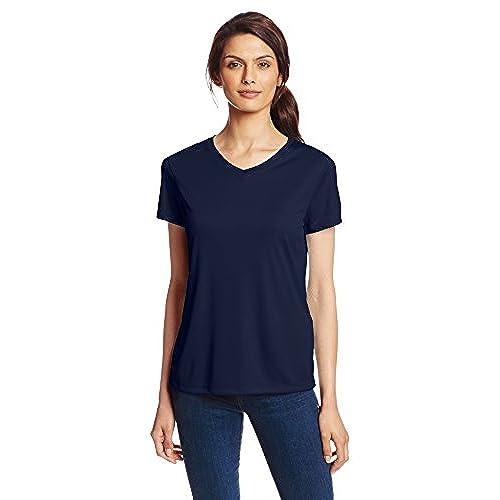Navy Blue Women's Shirt: Amazon.com