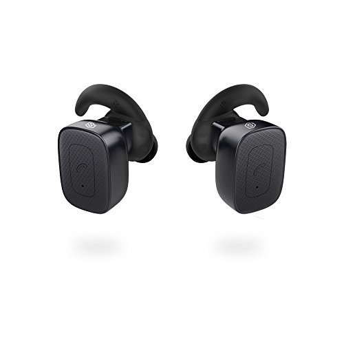 Completely-Wireless-Earbuds-SmartOmi-True-Wireless-Bluetooth-Headphones-Stereo-Noise-Cancelling-Earpieces-with-Mic-Hands-free-calls-for-Smartphones-iPhone-Android-on-Driving-or-SportsBlack