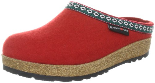 211 Uomo Rosso Pantofole Haflinger Rot Rot 711001 EHwWqYF