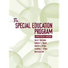 Special Education Program Administrator's Handbook