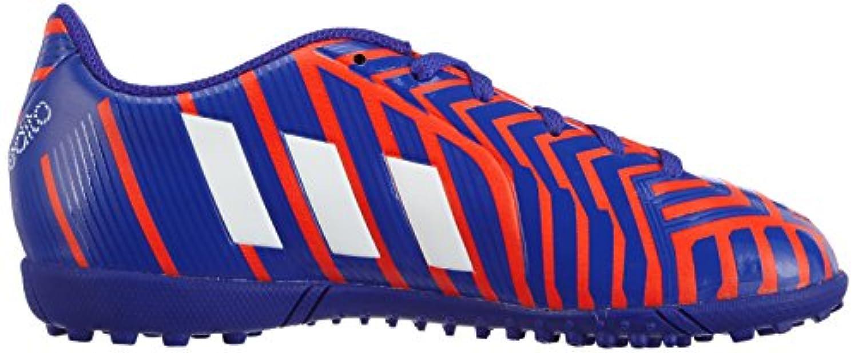 Adidas Predito Instinct Turf, Boys' Footbal Shoes, Multicolour (solar Red/ftwr White/night Flash S15), 1 UK (33 EU)