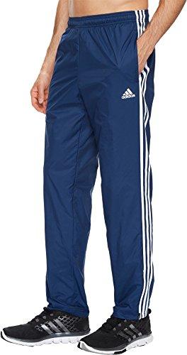 adidas Men's Essentials 3-Stripe Wind Pants, Collegiate Navy