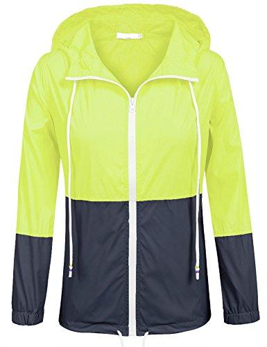 zip up rain coat - 9