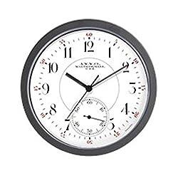 CafePress Waltham Railroad Pocket Watch 2 Wall Clock Unique Decorative 10 Wall Clock