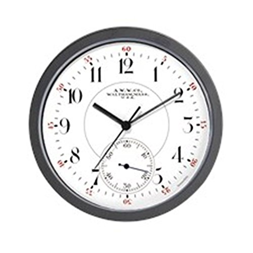CafePress Waltham Railroad Pocket Watch 2 Wall Clock - Un...