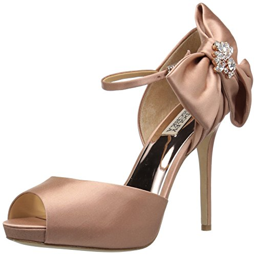 Badgley Mischka Women's Samra Heeled Sandal Dark Pink 8ynVAy
