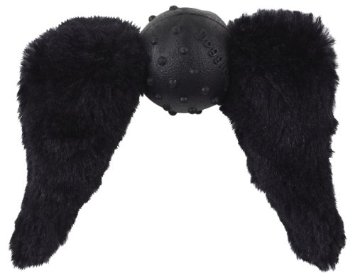 Doggles Mustache with Chops Toy for Dogs, Black]()