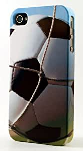 Soccer Ball Scoring A Goal Dimensional Case Fits iPhone 5 or iPhone 5s