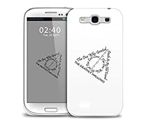 harry potter deathly hallow Samsung Galaxy S3 GS3 protective phone case