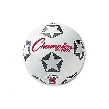 CHAMPION SPORTS Balón de Fútbol, Caucho/Nailon, No. 4 Tamaños ...