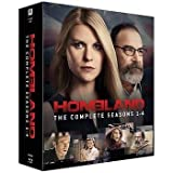 DVD : Homeland (Complete Seasons 1-4) - 12-Disc Box Set ( Home land - Seasons One, Two, Three & Four ) [ Blu-Ray, Reg.A/B/C Import - Sweden ]
