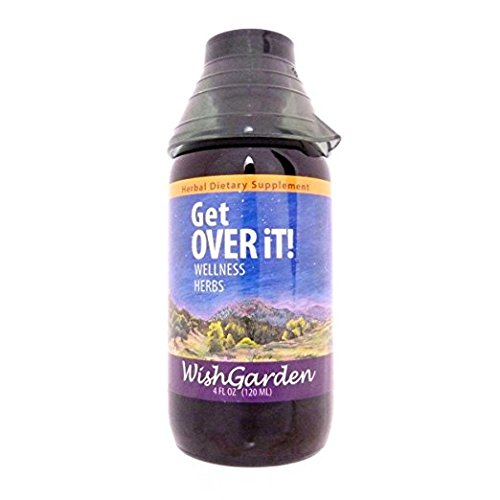 WishGarden Herbs – Get Over It, Organic Herbal Cold & Flu Remedy, Supports Your Body's Recovery During Cold or Flu Symptoms (4 oz)
