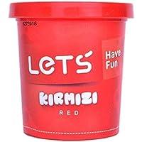 Lets L8340-2 Oyun Hamuru, Kırmızı, 150 Gr