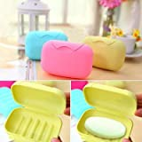 Travel Soap Box Case Holder (Set of 2 Pcs) - Random colors will be sent
