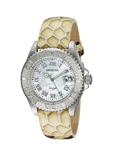 Invicta Women's 18418 Angel Analog Display Swiss Quartz Beige Watch