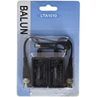 LaView LVA-B1010 LaView BNC to RJ45 Balun Power Connector (Black)