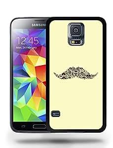 Retro Vintage Fun Art Arty Colorful Mustache Phone Case Cover Designs for Samsung Galaxy S5