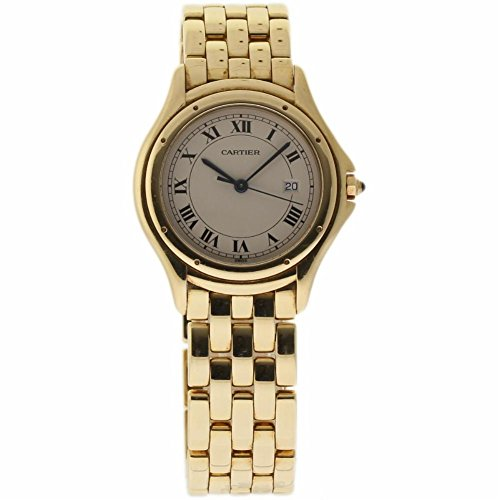 Cartier Cougar swiss-quartz womens Watch XXXX (Certified Pre-owned)